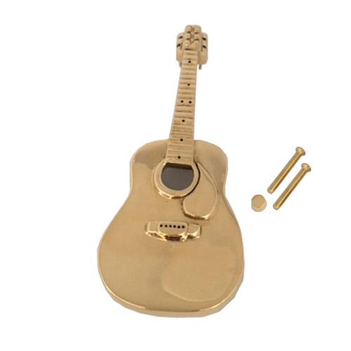 Door Knocker Brass Guitar