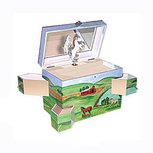 Enchantmints Musical Treasure Box with Horse