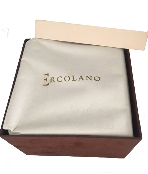 Upscale Mans Walnut Jewelry Box by Ercolano 36 note, 6 Square