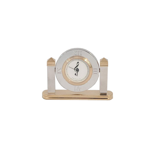 G Clef Swivel Clock