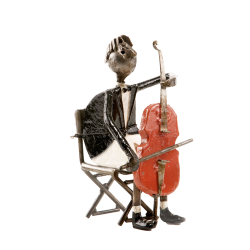 Felguerez Sculpture Cellist Boy