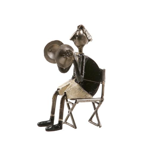 Felguerez Sculpture Cymbals Boy