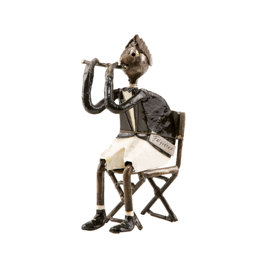 Felguerez Sculpture Flutist Boy
