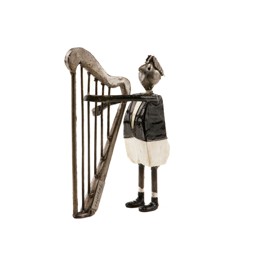 Felguerez Sculpture Harpist Boy