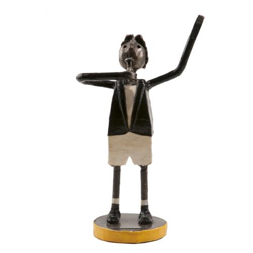 Felguerez Sculpture Singer Boy
