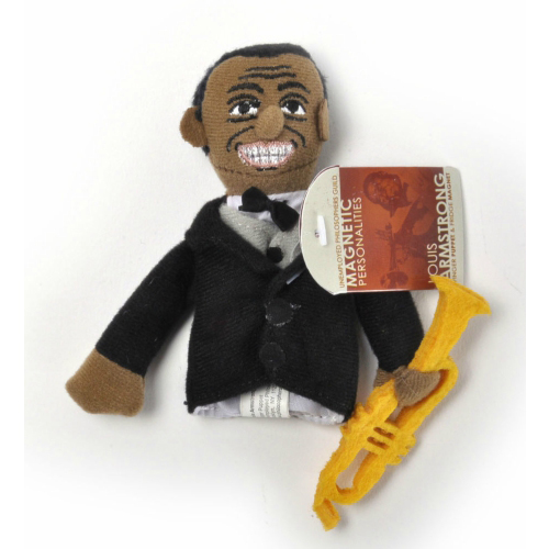 Finger Puppet Louis Armstrong by The Unemployed Philosophers