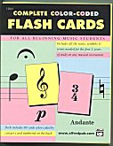 Flash Cards Alfred's Color-Coded