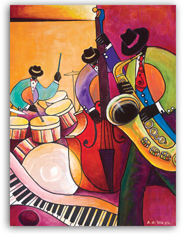 African American Expressions Musical Art