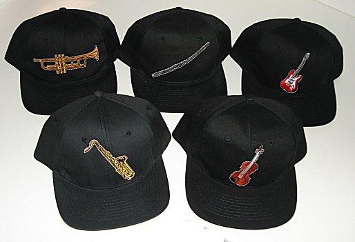 Baseball Caps - Musical Instrument