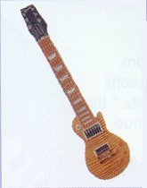 Shaped Tie Les Paul Guitar