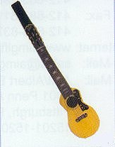 Shaped Tie Acoustic Guitar