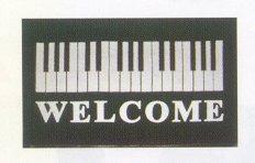 Welcome Door Mat Deluxe Keyboard