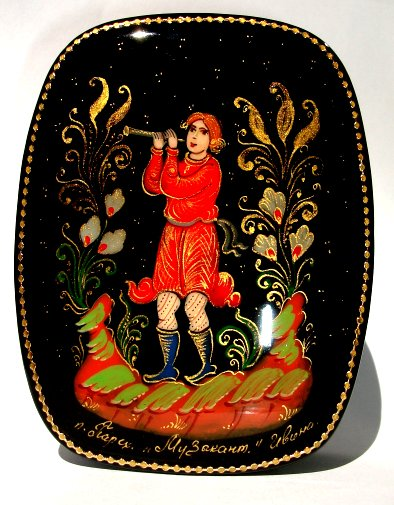 Russian Enamel Boxes