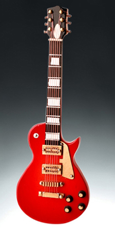 Magnet Flame Red Electric guitar