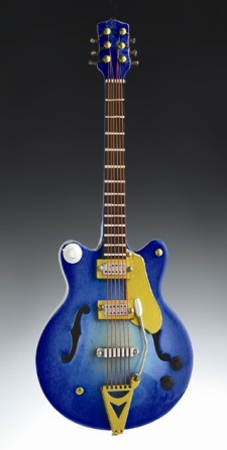 Magnet Blue Electric Guitar