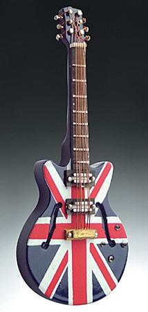 Magnet Union Jack Electric Guitar