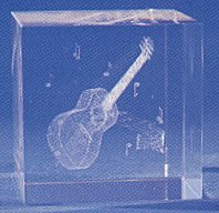 Accoustic Guitar in Crystal