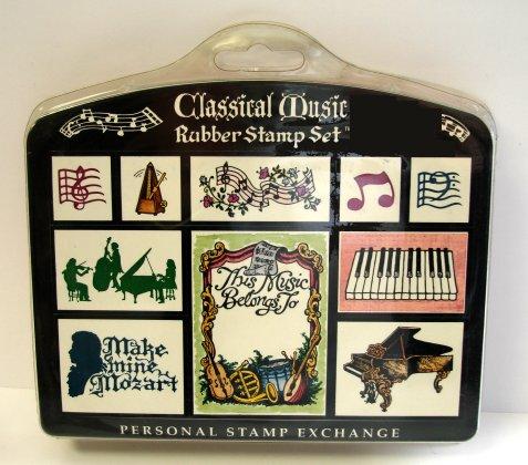 Stamp Set - Musical images