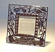 Photo Frame Silver Plate Museum Piece