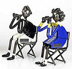 Felguerez Sculpture Trumpet Player Boy or Girl