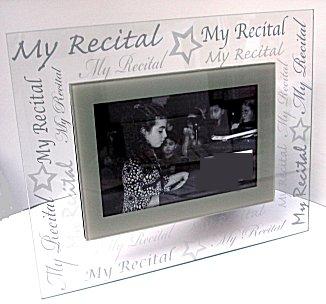 My Recital Photo Frame
