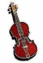 Harmony Future Primitive Pin Stradivarius Violin