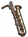 Harmony Future Primitive Tie Tac Saxophone Baritone