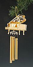 Chimes with Piano 24K with Austrian Crystals