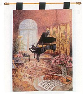 Wall Hanging  The Music Room by Liu