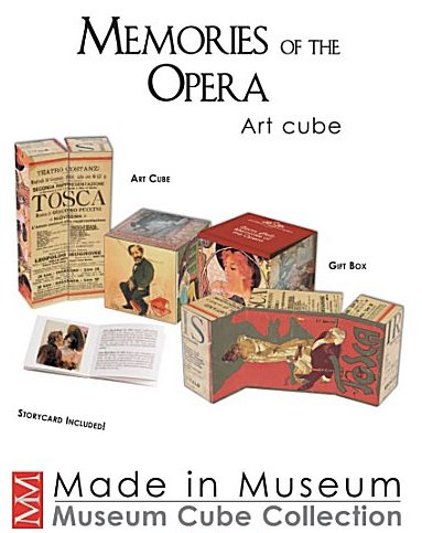 Museum Cube of Opera (only 1 left)