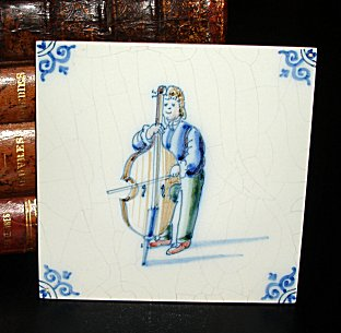 Delft Blue Art Tile