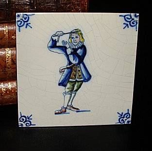 Delft Blue Tile - Conductor