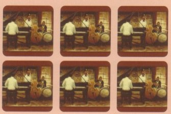 Pimpernel Jazz Band Coasters   Set of 6