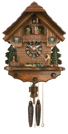 Cuckoo Clock One Day Musical Fisherman