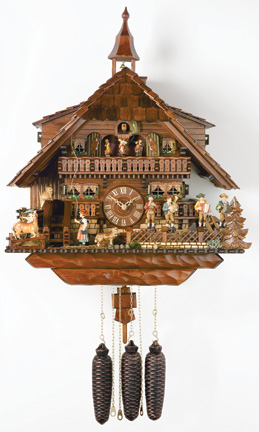 Cuckoo Clock Eight Day Collector Series Musicians