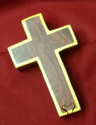 Wooden Crucifix Puzzle