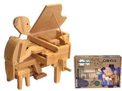 Timberkit Pianist Mechanical Marvel