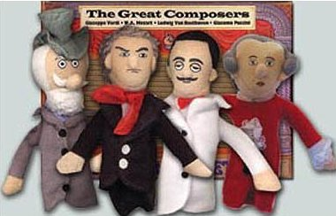 Finger Puppets  Composers Set
