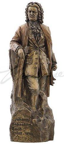 Bronze Johann Sebastian Bach Statuette