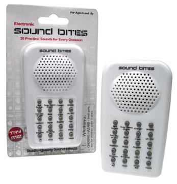 Sound Bite Toy Machine - Sound effects