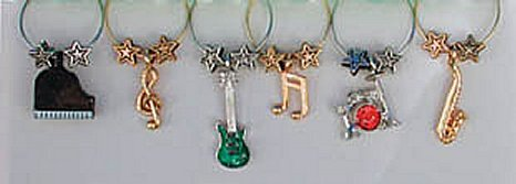 Wine Charms (package of 6)