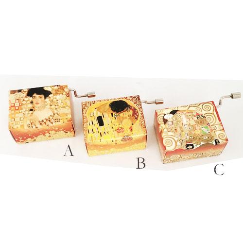 Hand Crank Klimt Series