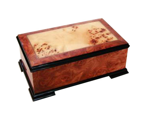 Handsome High Gloss Two Tone Musical Box