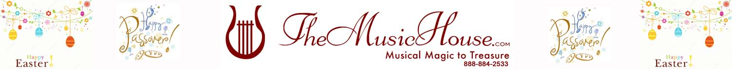 Happy Passover and Easter from TheMusicHouse.com
