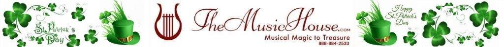 Saint Patricks Day Logo TheMusicHouse