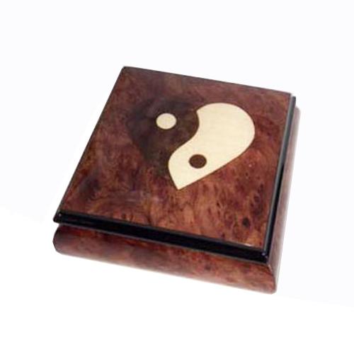 Heart Yin Yang Music Box