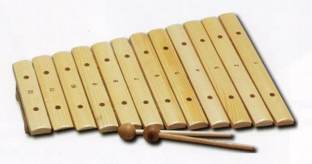 Xylophone - 12 note Wooden