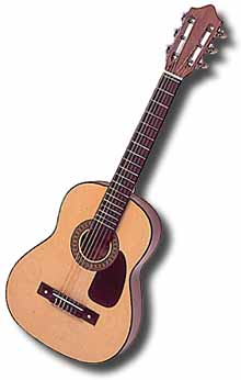 Hohner Childrens Classic / Folk Guitar (with Free bag)