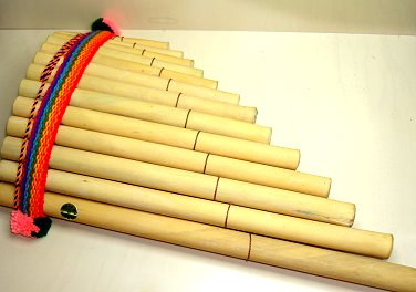Curved Panpipe, Large 13 Canes