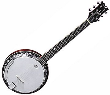 Backwoods 6 String Hybrid Banjo